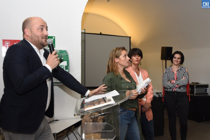 Séabstien Celeri, présidente di u cunsigliu righjunale di l'Ordine di l'architetti Corsica