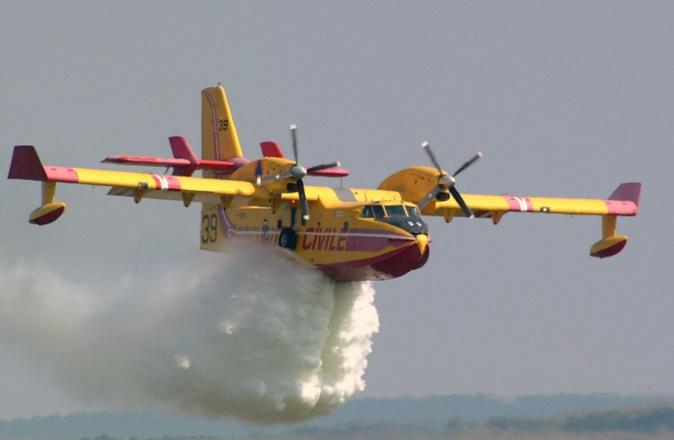 Lutte contre les incendies : L'UE met en place une première flotte de bombardiers