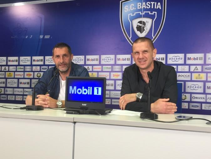 Stéphane Rossi, entraîneur, Claude Ferrandi, président, un même objectif : le N1