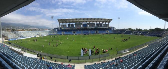 Furiani : 800 élèves sur la pelouse du stade Armand-Cesari
