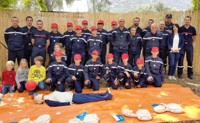 Ferveur et pratique du secourisme pour la Sainte-Restitude à Calenzana