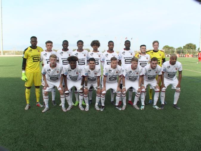Le Stade Rennais en dominant Dijon 3 - 1 rejoint Montpellier en finale
