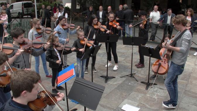 Bastia : Percorsu musicale cù l'Archetti Bastiacci..