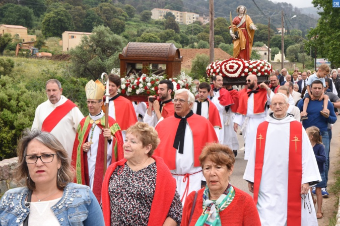 Santa Restituta celebrata sta duminicate in Calinzana