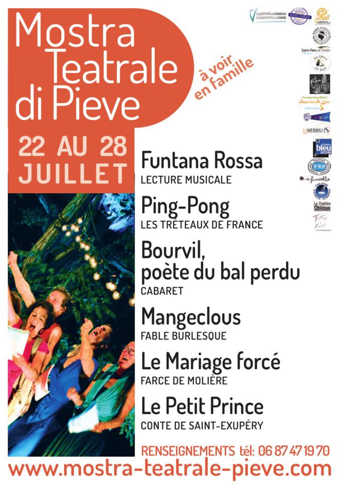 Pieve : La Mostra Teatrale revient du 22 au 29 juillet 2019