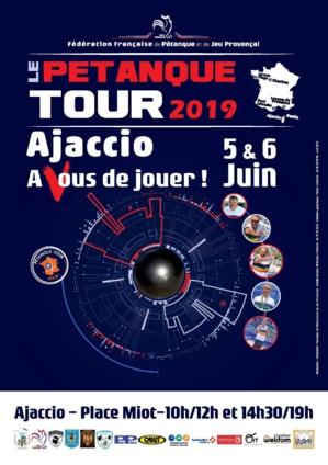 Pétanque Tour : l'édition 2019 débute ce 5 juin à Ajaccio