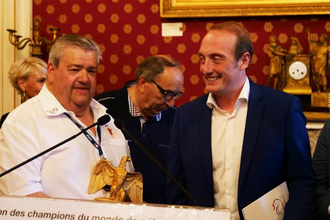 Accueil impérial pour la pétanque et ses Champions du monde à Ajaccio
