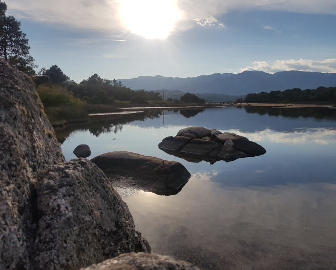 La photo du jour : l'étang du Benedettu