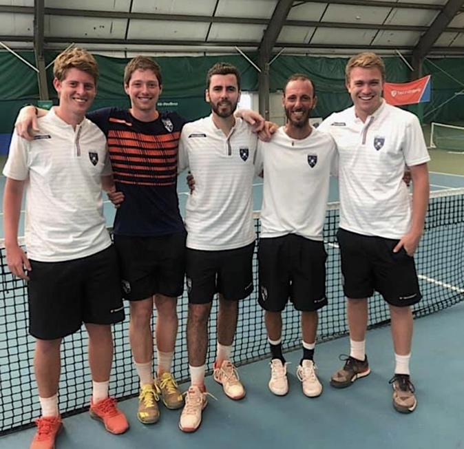 Contrat rempli pour l'équipe du Tennis club de Miomo