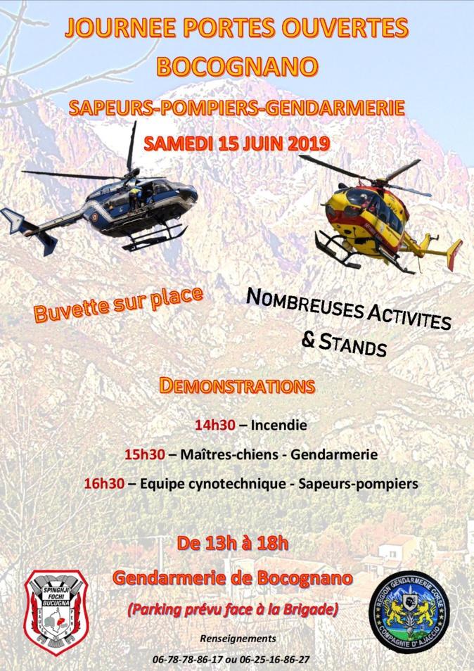 Boccognano : gendarmes et pompiers ouvrent les portes de leurs casernes ce 15 juin