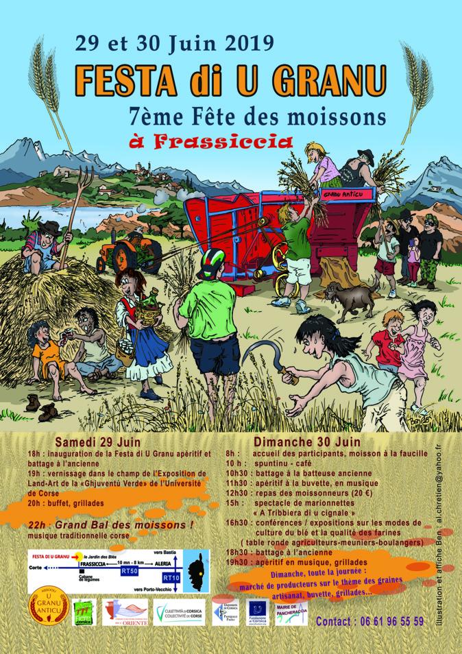 Festa di u granu : Appel à participation pour l'édition 2019