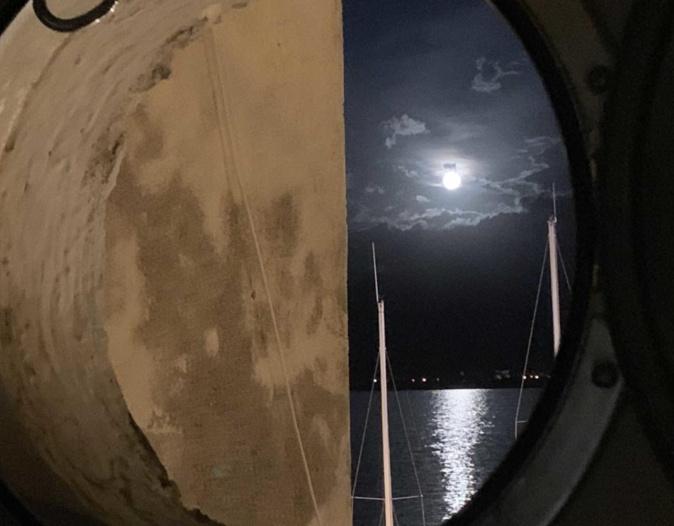 Soir de pleine Lune à Calvi (Anne-Marie Ausilia)
