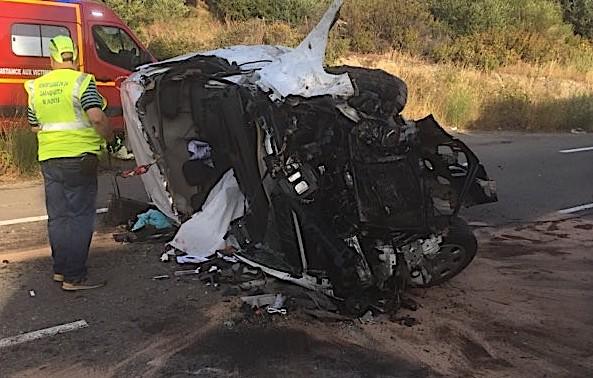 Les victimes de l'accident d'Urtaca âgées de 19 et 23 ans