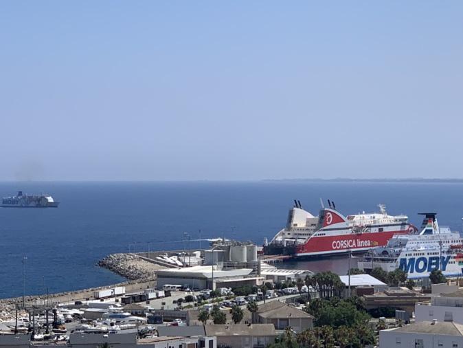 Corsica Linea annule ses traversées du jour et de lundi