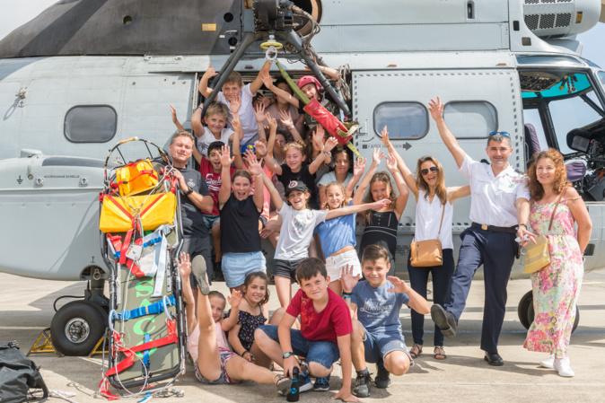 La station météorologique de la base aérienne 126 et l'école primaire de Travo : une association qui a le vent en poupe