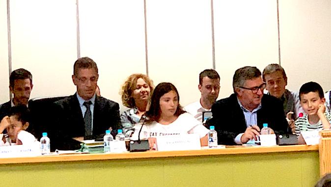 Le conseil municipal a été précédé par la présentation des projets adoptés par u cunsigliu municipale di i zitelli