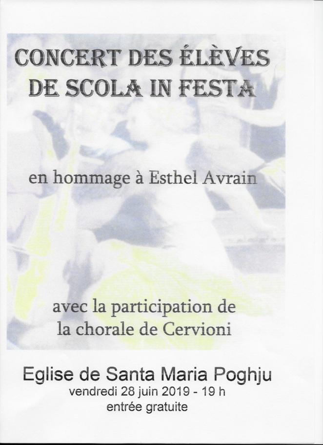 Santa Maria Poghju : un concert en hommage à Esthel Avrain ce 28 juin