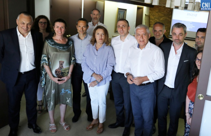 Alex Vinciguerra est le nouveau président d'Inizià