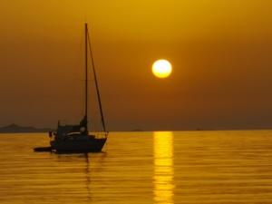 La photo du jour : coucher de Soleil magique à Mare e Sole
