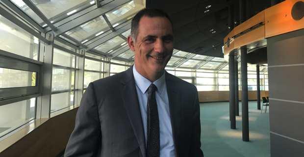 Gilles Simeoni, président du Conseil exécutif de la Collectivité de Corse et président de la Chambre des territoires.