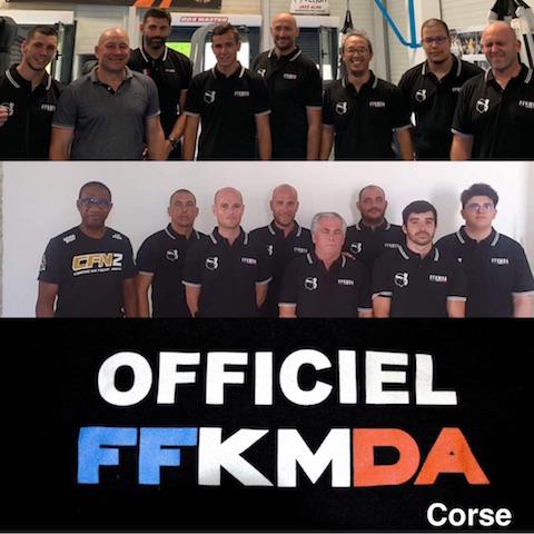 Corse : Kick boxing et Pancrace se dotent de 14 nouveaux arbitres