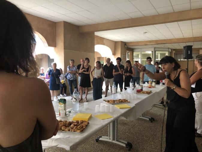 Caroline Lajus quitte le Lycée Polyvalent de Balagne pour le lycée de Corti