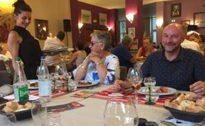 Rose-Marie Cesari, présidented e la foire de Filitosa et Marc Jung, président du PETR Haut-Rhin vignoble grand ballon