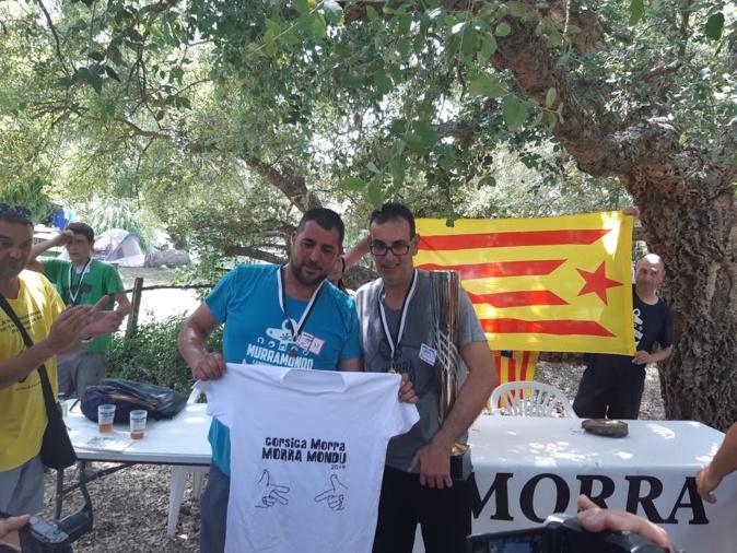 La Catalogne remporte le premier championnat du monde de Morra à Sarrola-Carcopino