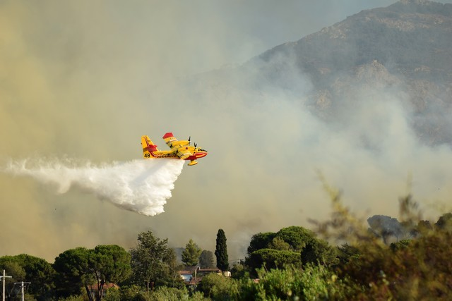 Reconnaissance terrestre de l'incendie de Calenzana : bilan est revu à la baisse
