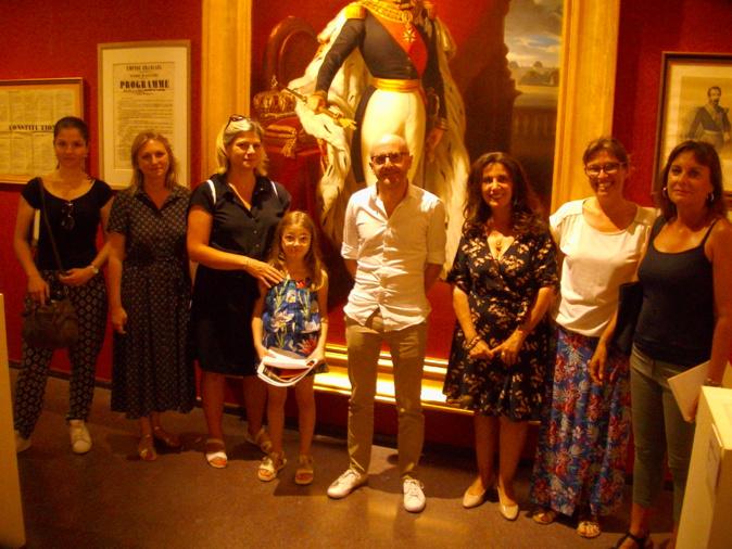 Les guides sensibilisées au Second Empire au musée de Bastia