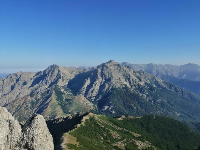 La photo du jour :  la Punta Migliarellu et le Monte d'Oru