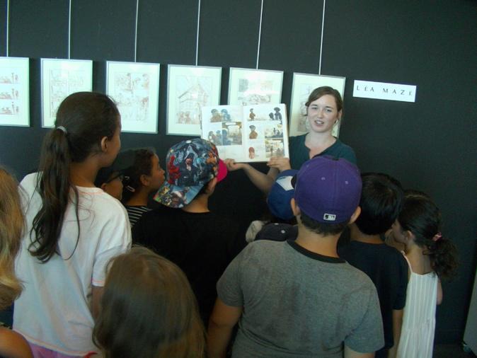 Bastia : Exposition et atelier BD avec Léa Mazé