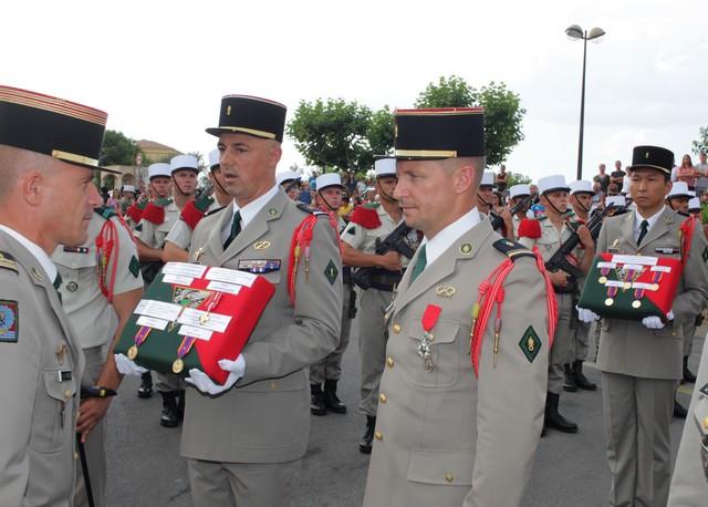 MAJ  KRAOUTCHANKA  OULADZIMIR décoré de la Légion d'Honneur