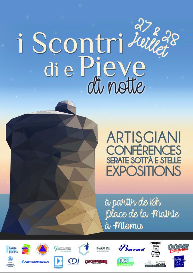 Santa Maria-di-Lota : I Scontri di e Pieve reviennent les 26, 27 et 28 juillet prochains