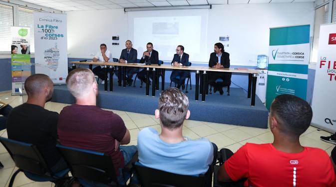 Très Haut Débit pour la Corse : 78 jeunes et adultes formés aux métiers de la fibre