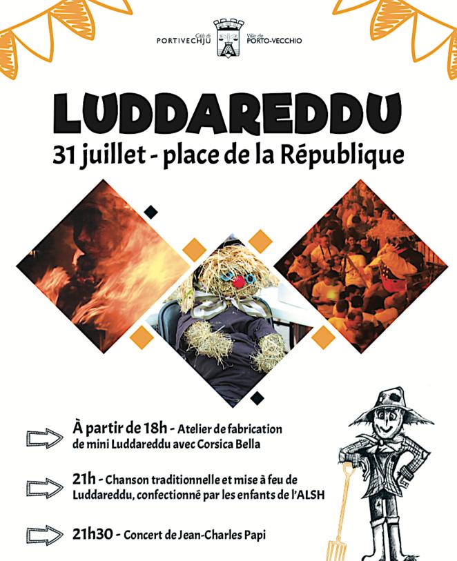 Luddareddu : Le 31 Juillet à Porto-Vecchio