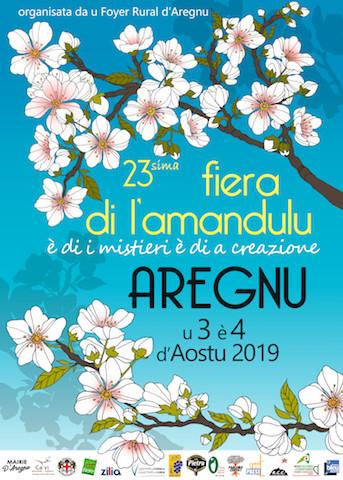 La 23ème édition di A fiera di l'Amandulu in Aregnu les 3 et 4 août prochains