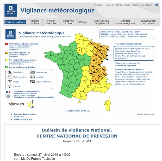 La météo se dégrade en Corse : appel généralisé à la prudence