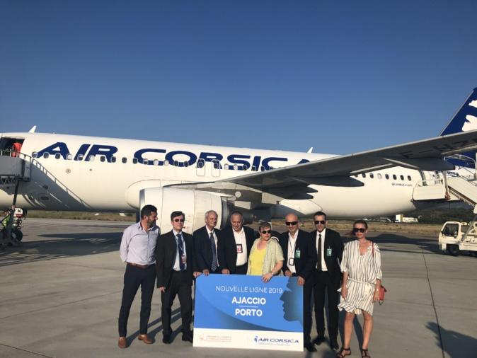 La Corse est désormais reliée au Portugal avec un vol direct vers Porto