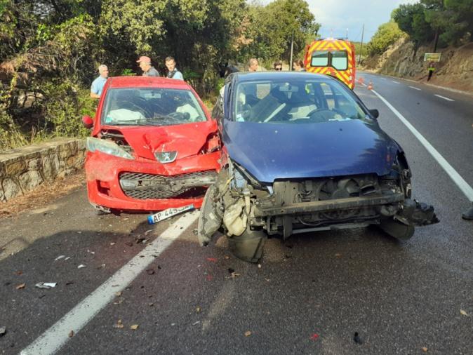 Du gasoil sur la chaussée provoque trois accidents à Lumio