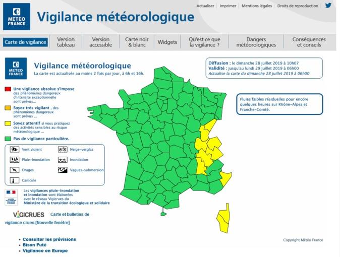 Météo: Vers une amélioration rapide de la situation ce dimanche en Corse