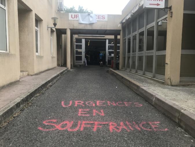 """VIDEO - Urgences à Bastia : """"Même en grève nous ne refusons pas les patients"""""""