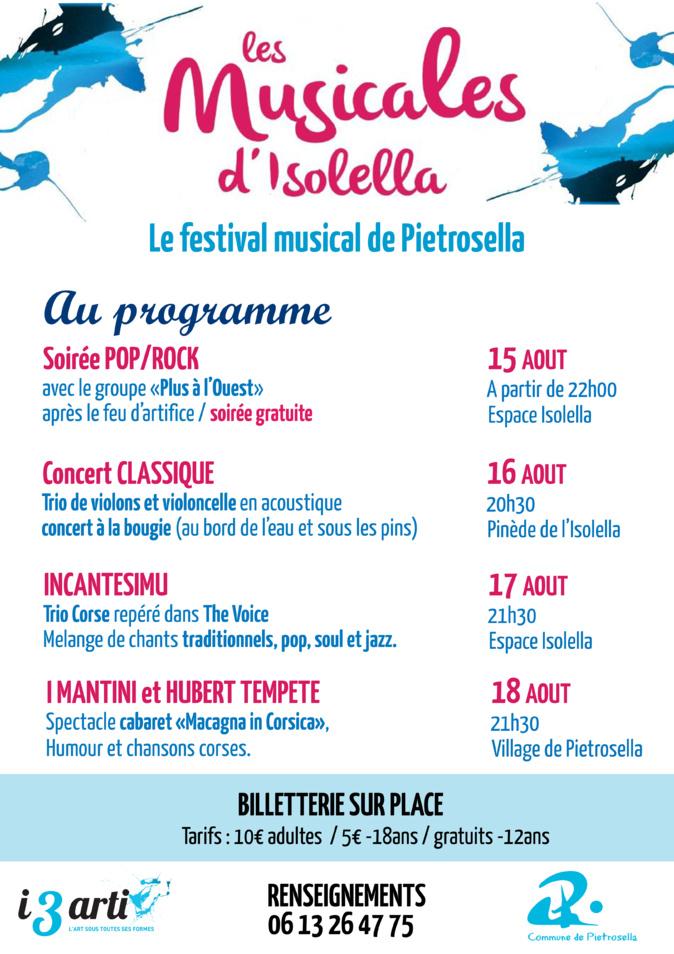 Pietrosella : Les Musicales d'Isolella reviennent en version nomade