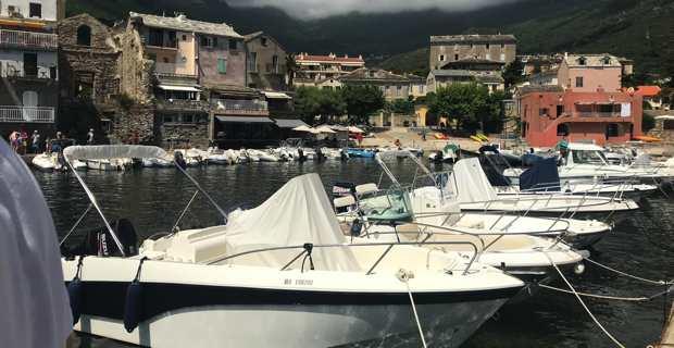 Le port d'Erbalunga remis en état par la Collectivité de Corse.