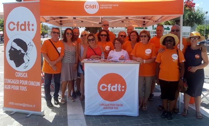 La CFDT Corsica à la rencontre des saisonniers à Saint-Florent