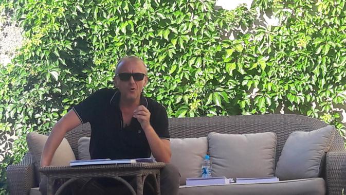 Jean-Christophe Liccia, un passionné de l'histoire de son île.