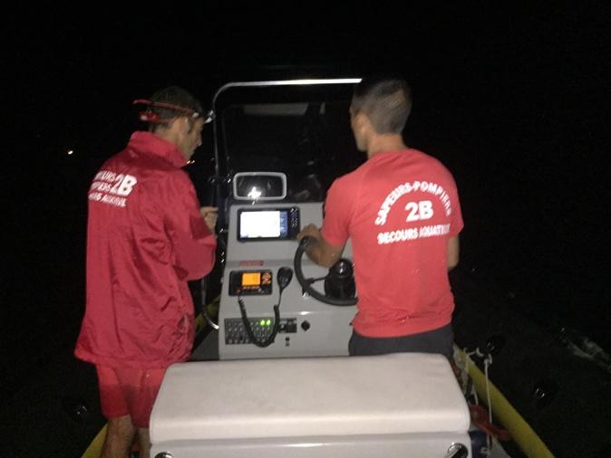 Le Grima de Haute-Corse intervient de nuit sur la plage de l'Ostriconi