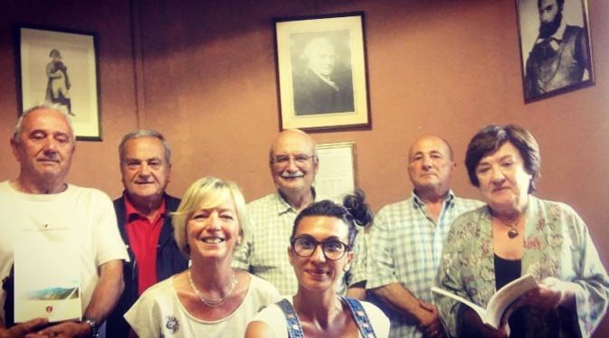 Les membres organisateurs de l'association Letia Catena
