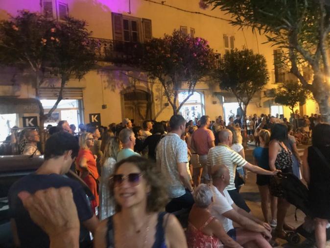 Un succès pour la 1re nocturne des commerçants du Centre-ville de Calvi