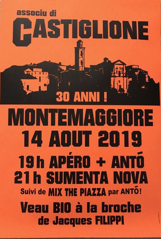 L'associu Castiglione de Montemaiò fête ses 30 ans ce mercredi 14 août